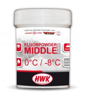 HWK Fluorpulver Middle Silber