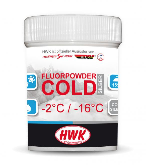 HWK Fluorpulver Cold Silber